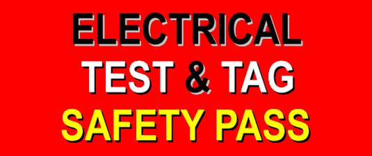 Test & Tag, Electrical Saftey, Electrical Test & Tag, 3 phase test & tag, single phase test & tag